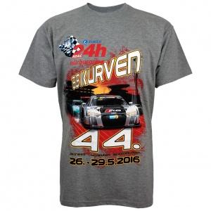 """T-Shirt """"24h Rennen 2016"""" grey"""