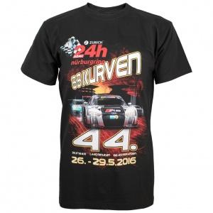 """T-Shirt """"24h Rennen 2016"""" black"""